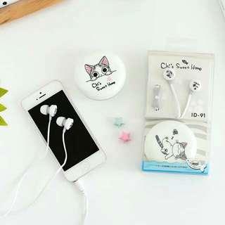可愛卡通耳機