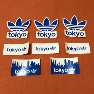 [限量]愛迪達 Adidas original 東京款貼紙