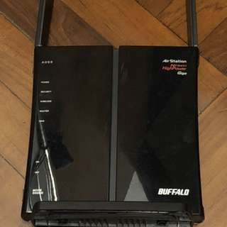Buffalo WiFi Nfiniti router