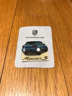 Porsche Macan Badge