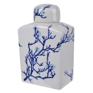 Cherry Blossom Lidded Jar