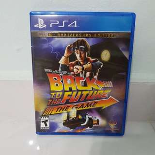 PS4 - Back To The Future (30th Anniversary Ed)