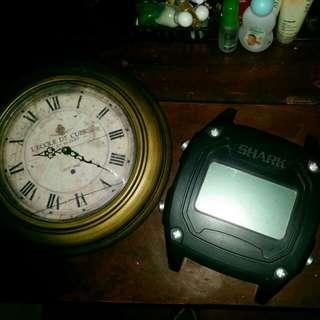 Unique Clocks SOLD AS A SET