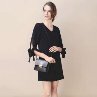 And Well Dress Lounge Split Tie-Sleeves Dress