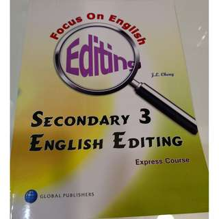 English Editing secondary 3