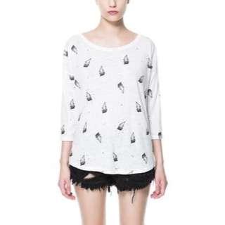 Zara Lightning Sweater