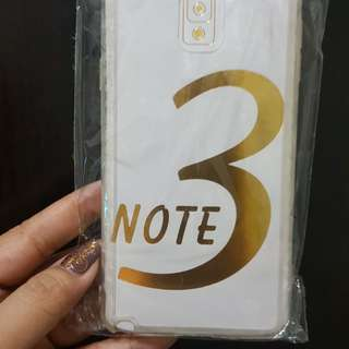 Samsung Note 3 Clear Casing
