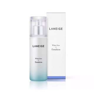 BNIB Laneige White Dew Emulsion 100ml