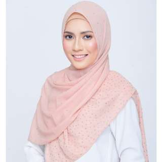 Shawlbyvsnow Be Dazzled Scarf in Cotton Flower
