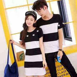 Couple Wear RM100 (1 DRESS AND 1 T-SHIRT)