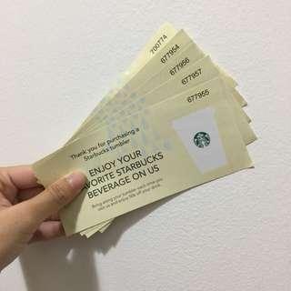 STARBUCKS Singapore Drink Voucher