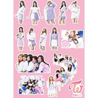 💞. Twice PVC Sticker  . 💞