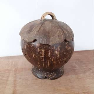 Coconut Shell Decoration