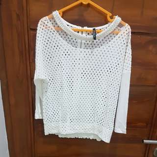 High quality! Cavalier white top