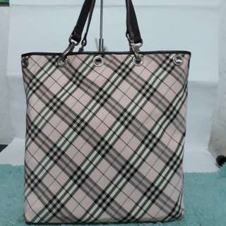 Authentic Burberry Reversible tote bag