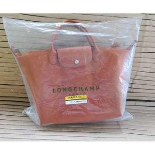 Longchamp Medium Nylon Tote Bag From Italy MOCHA BROWN