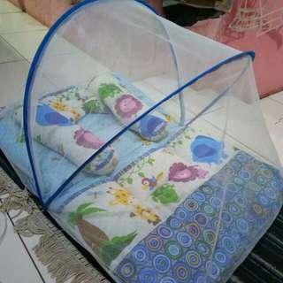 Kasur lipat bayi // tempat tidur bayi