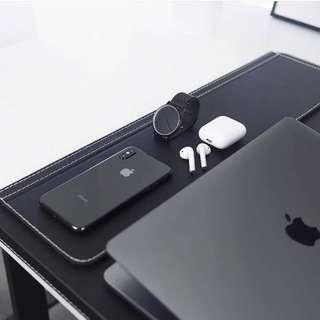 Macbook Pro with iphone X