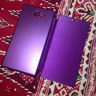 case / flip case sony Xperia M2