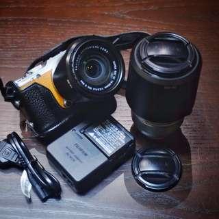 Fujifilm XA-2 with kit lens (READ DESCRIPTION)