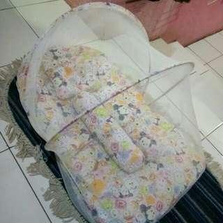 Kasur lipat bayi tsum tsum