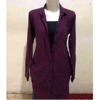 Kemeja Dress H&M