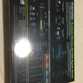 ASUS Dual-band router RT-AC1200G+ Wireless -AC1200