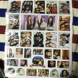 [INSTOCK] BLACKPINK STICKER SHEET