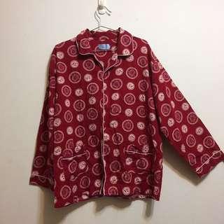 🚚 襯衫式睡衣