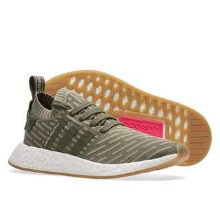 Adidas NMD R2 Primeknit Japan Wonder Pink W