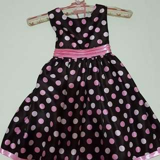 Barbie girl oshkosh polka dots dress