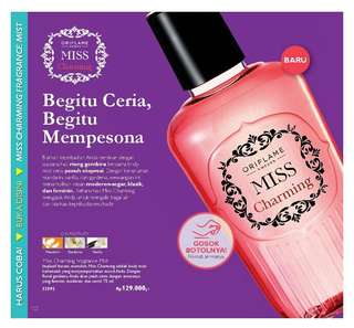 Miss Charming Fragrance Mist