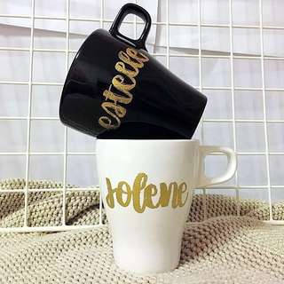 Customisable Mug cup Colleagues student Teachers Colleague Day Student Teacher bridesmaid proposal Presents Present Gift Gifts wedding Students Door Birthday friend Friends Party Embossed Boy Girl Calligraphy Personalised Customised Farewell cheap