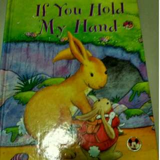 Book -new Hardcover  book - If You Hold My Hand