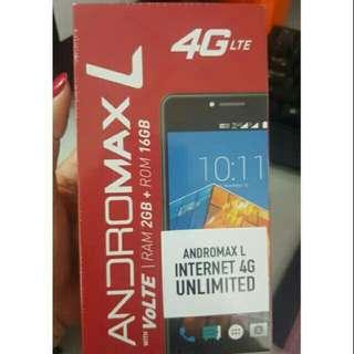 Handphone andromax L plus paketan unlimited sebulan