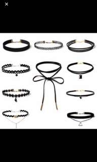 Chokers in a Set
