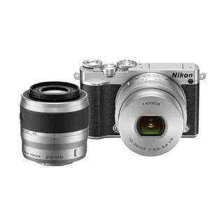 Nikon 1 J5 Kit 10-30mm with 30-110mm Double Lens Kredit tanpa CC