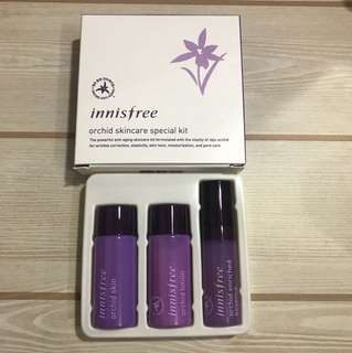 Innisfree Orchid skincare special kit (3 in 1)