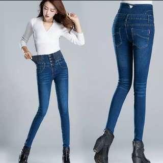 全新ZARA旗下品牌PULL&BEAR女水洗棉超彈性牛仔褲