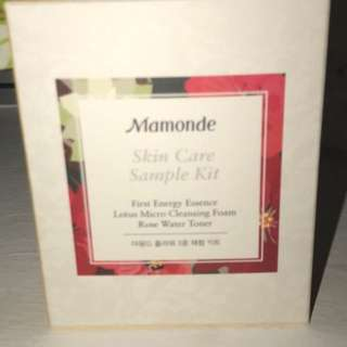 Mamonde Free Sample kit!
