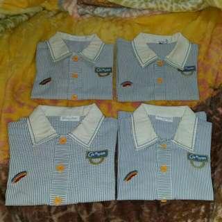 $180 迦南男生夏季100碼校服四套 Cannan Kindergarten Uniform