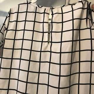 Size M chiffon f21 shirt