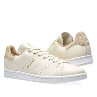 Adidas Women's Stan Smith Off White & Pale Nude W