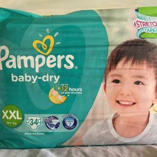 Pampers Tape Diapers XXL