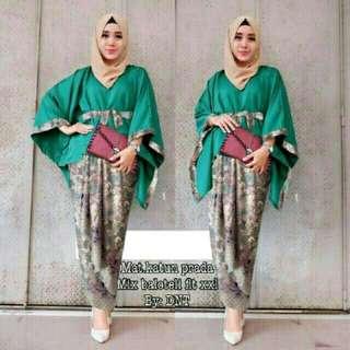 Baju gamis HAZANA-BUSANA MUSLIM-DRESS