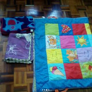 All RM 50.....2 blanket and one baby plastic