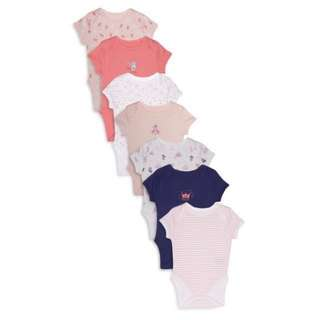 PRIMARK 7PIECES GIRLS BODYSUIT/ROMPER