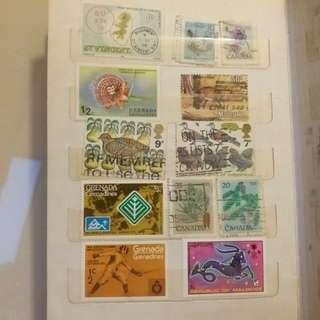 植物 宗教郵票