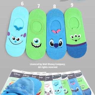 Monsters,Inc Boat Socks