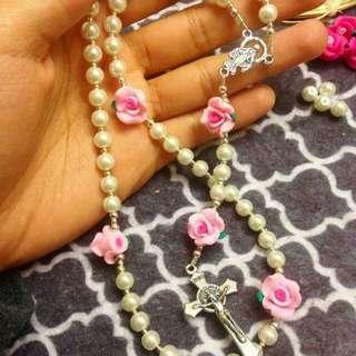 Handmade rosaries.